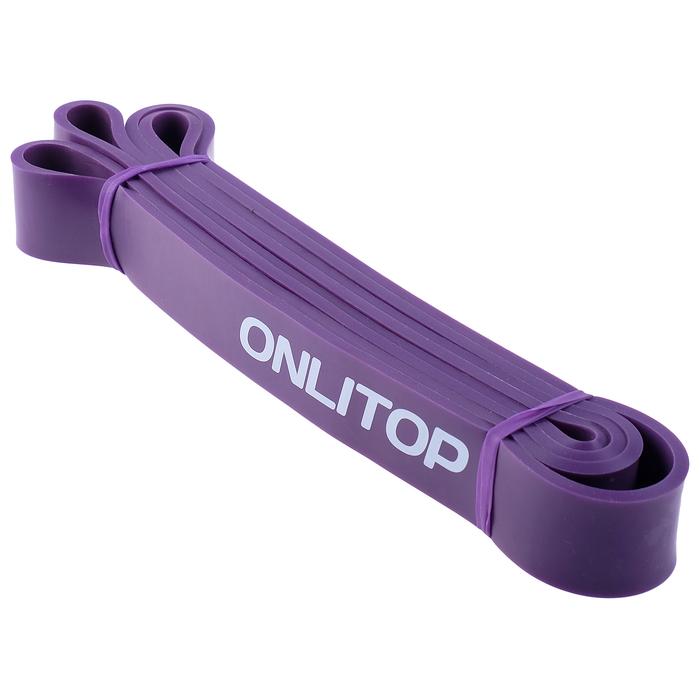 Эспандер многофункц, ленточный 11-36 кг, 208х3,2х0,5 см, цвет фиолетовый