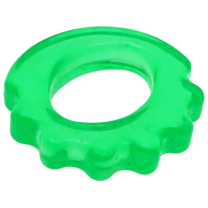 Эспандер кистевой резина в сетке 9см, цвета МИКС