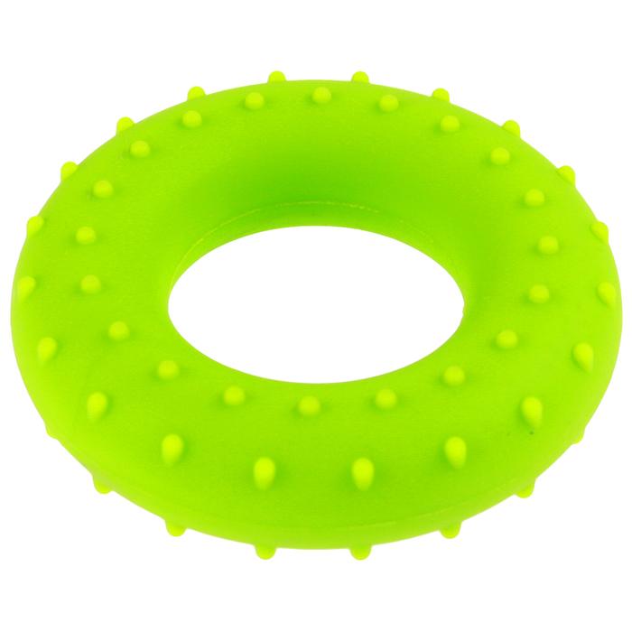 Эспандер кистевой, массажный 7 см, нагрузка 30 кг, цвет зеленый