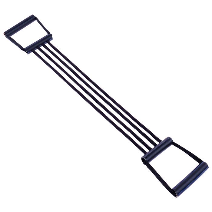 Эспандер плечевой подростковый, 4 резинки, пластиковые ручки 32-11