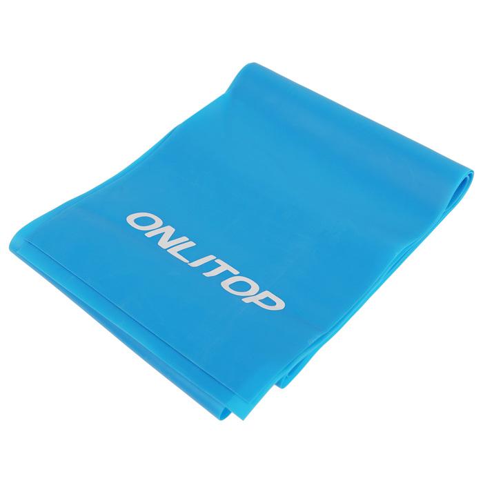 Эспандер ленточный для фитнеса 150х15х0,05 см, цвета микс
