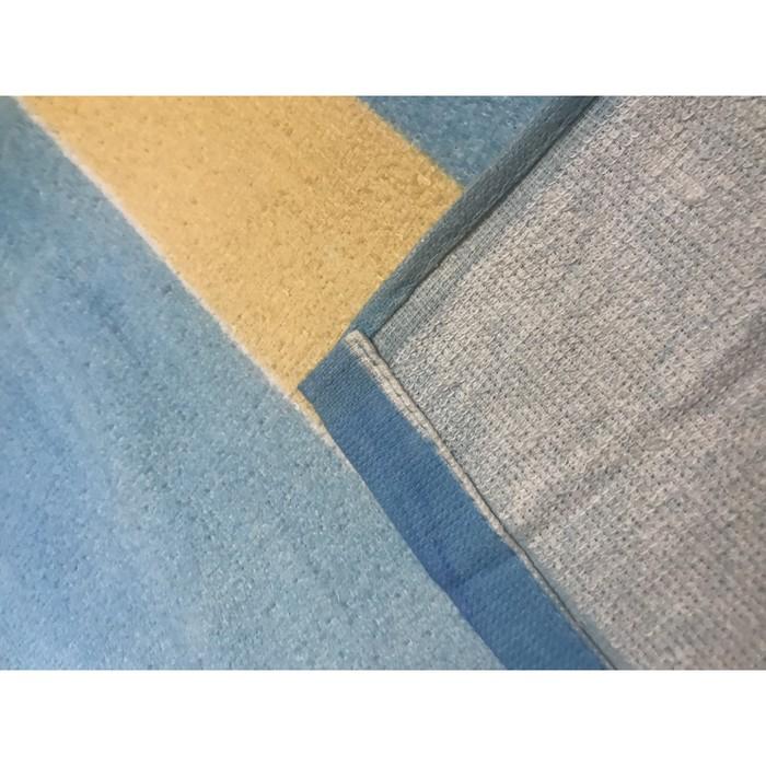 Полотенце пляжное махровое ПАВЛИНА Летняя прохлада 70х140 см, хлопок 100%