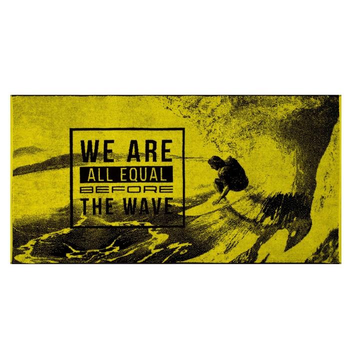 """Полотенце махровое """"Этель"""" The Wave 70х130 см, 100% хл, 420 гр/м2"""