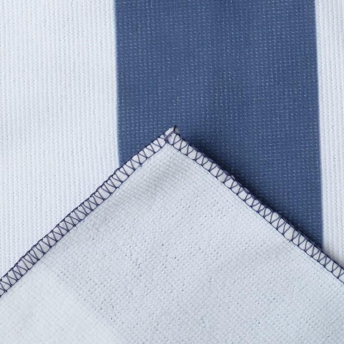 """Полотенце пляжное в сумке Этель """"Тукан"""", 70*140 см, микрофибра, 100% п/э"""