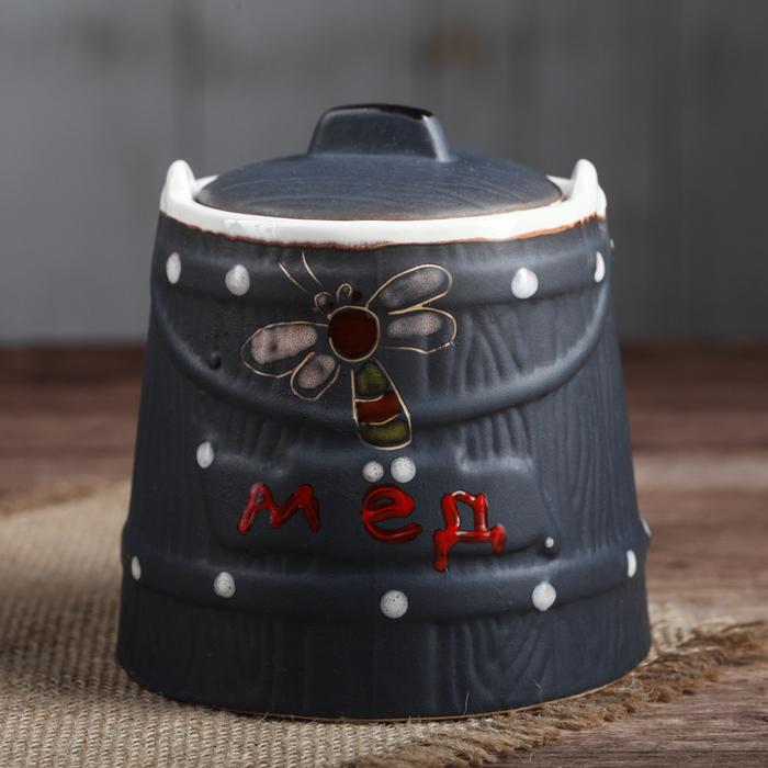 Медовница керамическая, чёрная