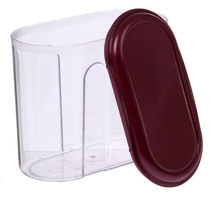 Ёмкость для сыпучих продуктов 1 л, цвет МИКС