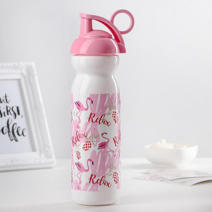 "Бутылка 680 мл ""Фламинго"""