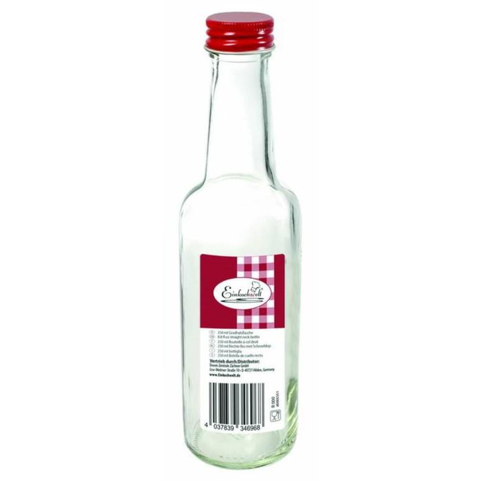 Бутылка «Dosen-Zentrale», 250 мл, с красной крышкой
