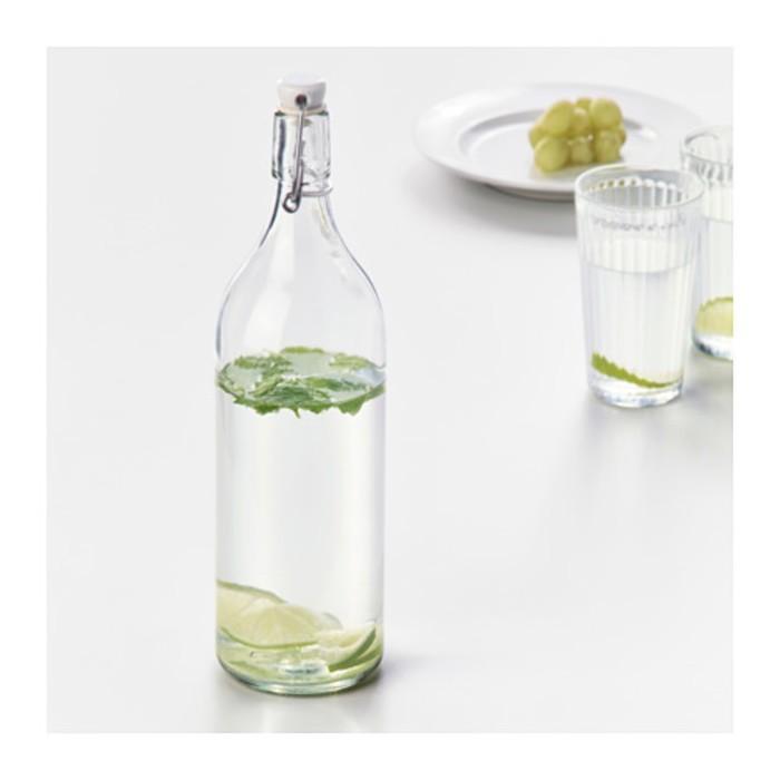Бутылка с пробкой 1 л КОРКЕН