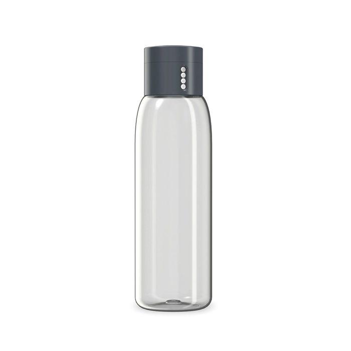 Бутылка для воды Joseph Joseph Dot серая, 600 мл