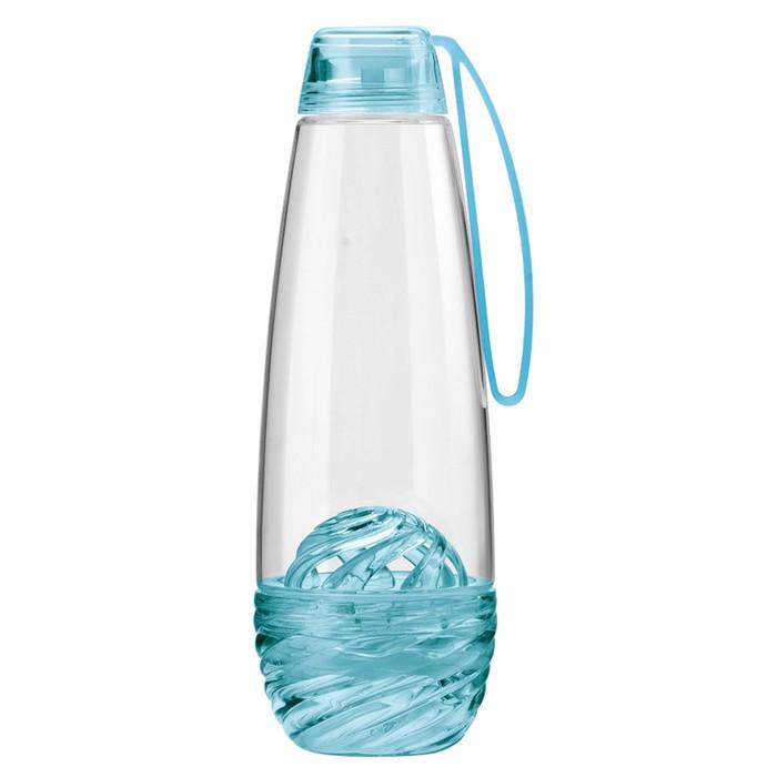 Бутылка для фруктовой воды H2O, голубая