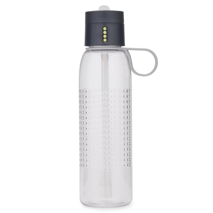 Бутылка для воды Dot Active 750 мл, серая