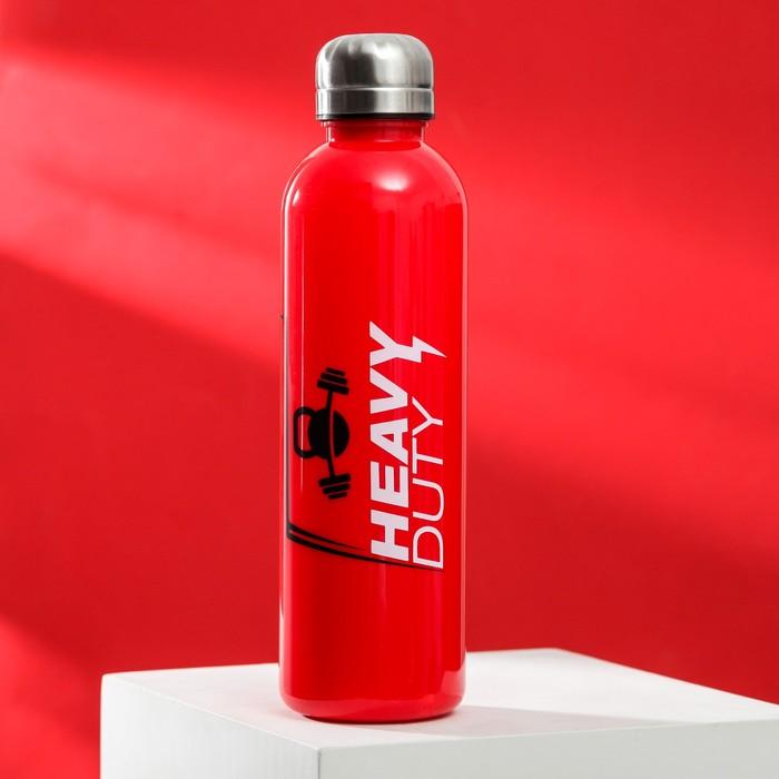 """Бутылка для воды """"Heavy duty"""", 600 мл"""