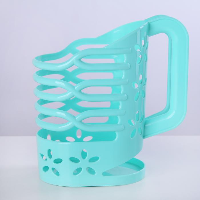 Подставка для пакета молока 1 л, цвета МИКС