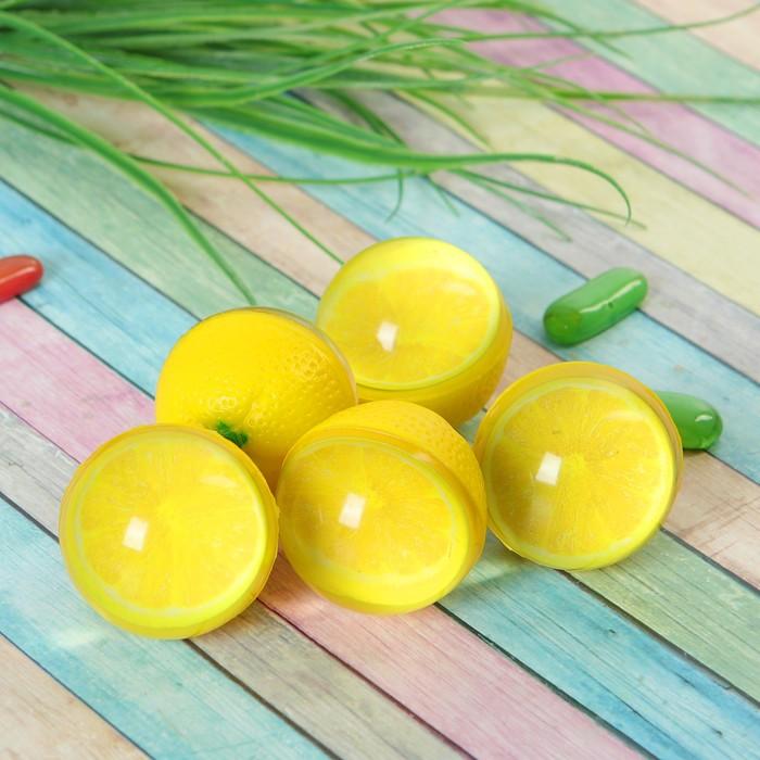 """Мяч каучук """"Лимон"""" 4*5 см"""