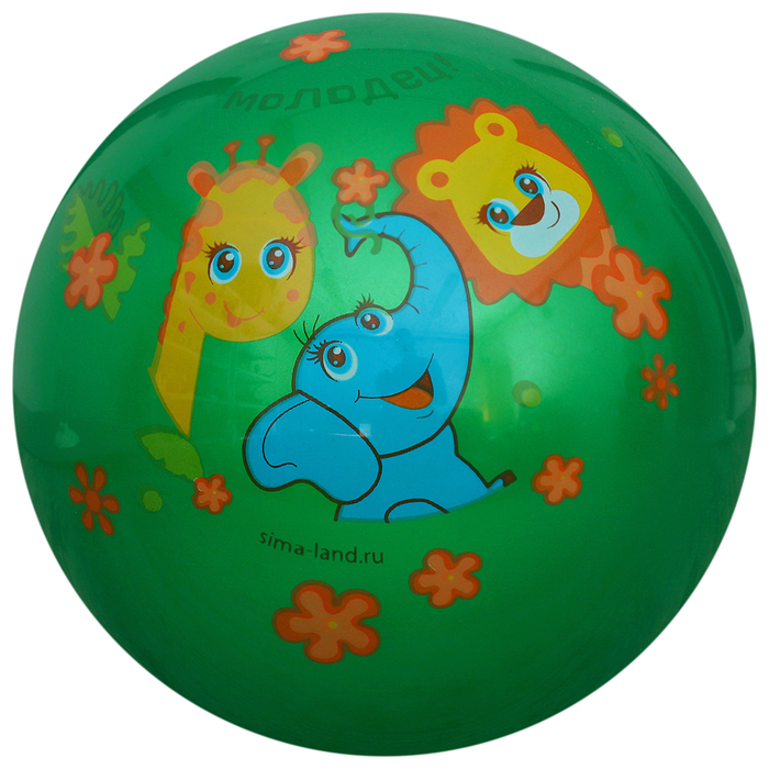 "Мяч детский ""Молодец!"", d=22 см, 70 г, МИКС"