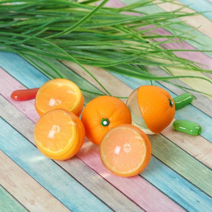 "Мяч каучук ""Апельсин"" 4*5 см"