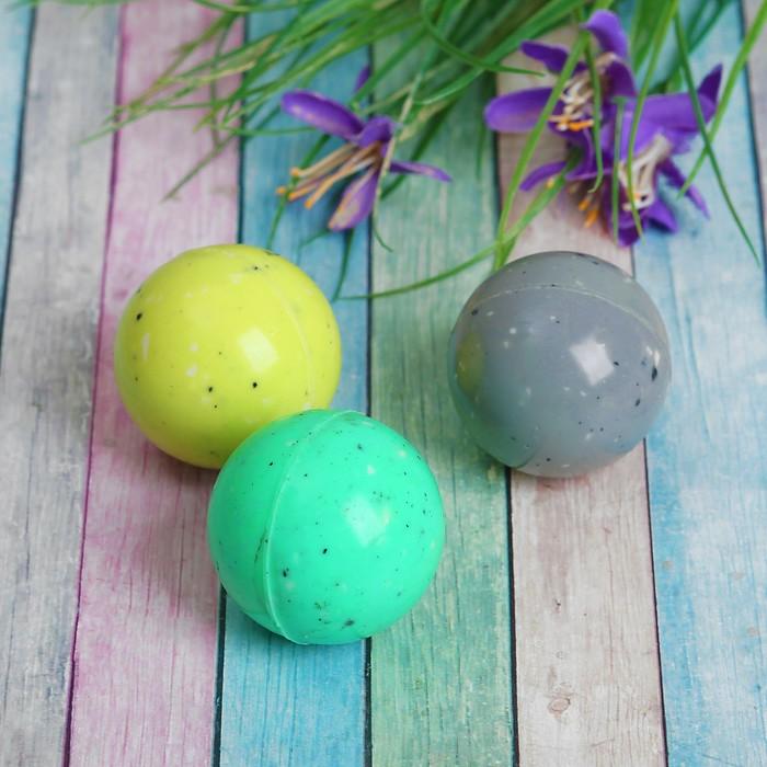 """Мяч каучуковый """"Крапинки"""", 4,1 см, цвета МИКС"""
