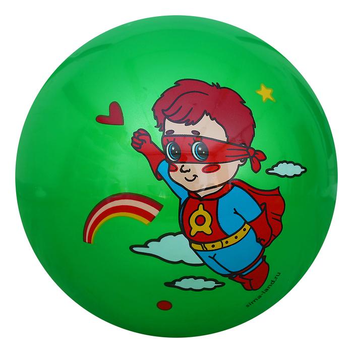 """Мяч детский """"Супергерой"""", d=22 см, 70 г, МИКС"""