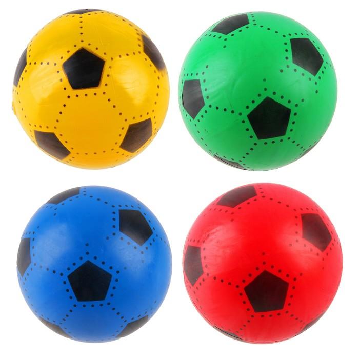 Мяч футбольный, d=16 см, 45 г, МИКС