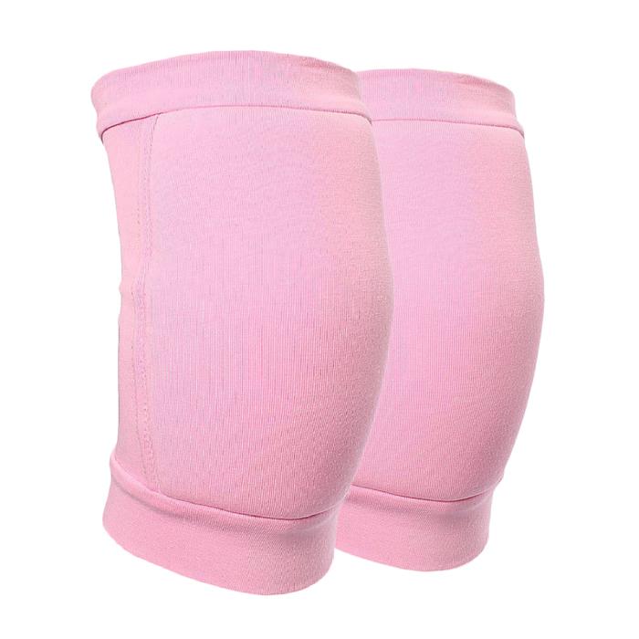 Наколенники для гимнастики и танцев с уплотнителем, размер S(7-10 лет), цвет розовый