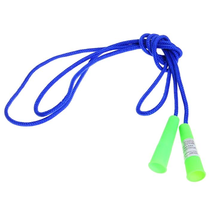 Скакалка, 2,3 м, нейлон, цвета МИКС