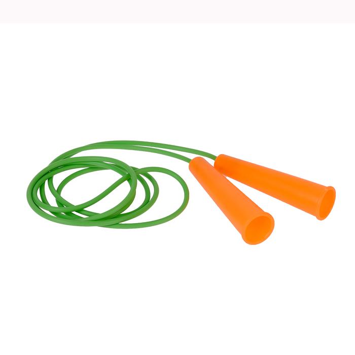 Скакалка спортивная 2,5м, диаметр шнура 5 мм, МИКС