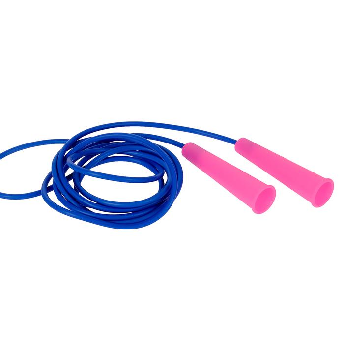 Скакалка спортивная 3,00м, диаметр шнура 5 мм, МИКС