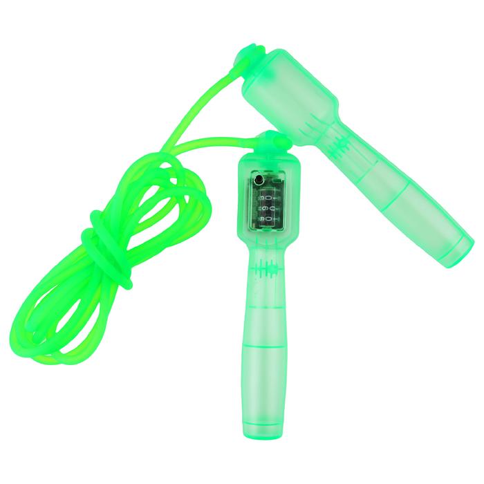 Скакалка со счетчиком 2,6 м, d=0,5 см, цвета микс