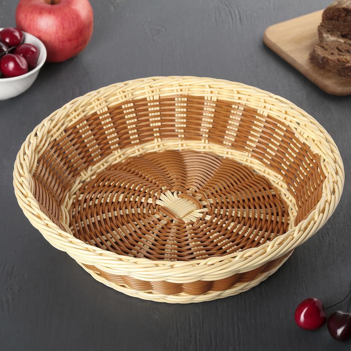 Корзинка для фруктов и хлеба, 29х29х8 см