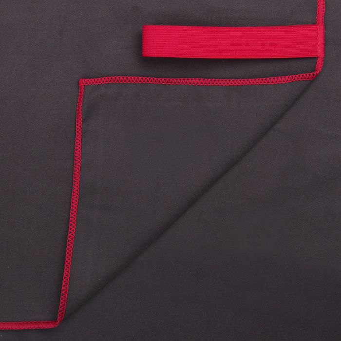 Спортивное полотенце ONLITOP, размер 80х130 см, серый, 200 г/м2