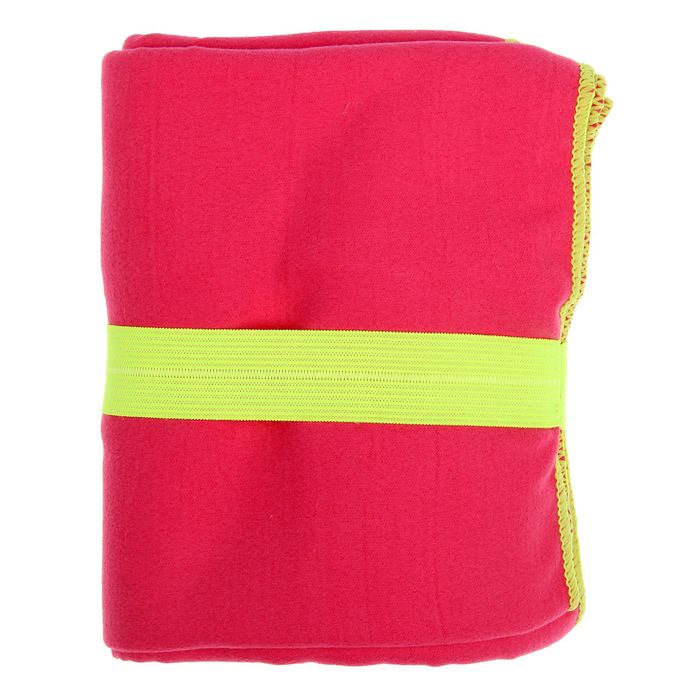 Спортивное полотенце ONLITOP, размер 70х90 см, розовый, 200 г/м2