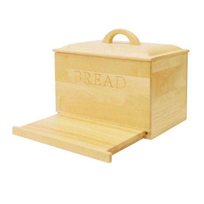 Хлебница Green way, с крышкой и выдвижной доской 28,3 × 33,5 × 23,9 см
