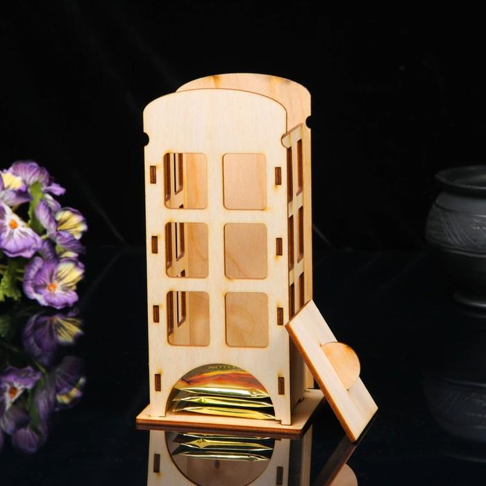Чайный домик «Телефонная будка», 20 × 10 × 10 см