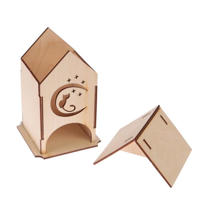 "Чайный домик ""Котёнок"" 11х16,9см"