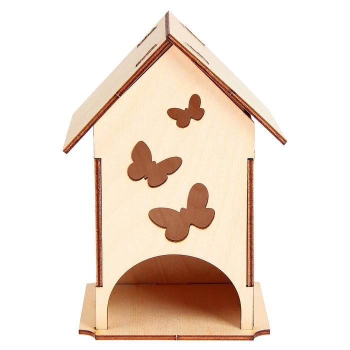 """Чайный домик """"Бабочки"""" 11х16,9см"""