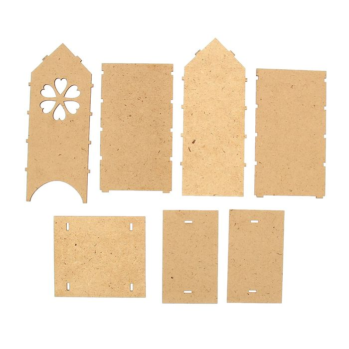 Чайный домик с цветочком, набор 7 деталей