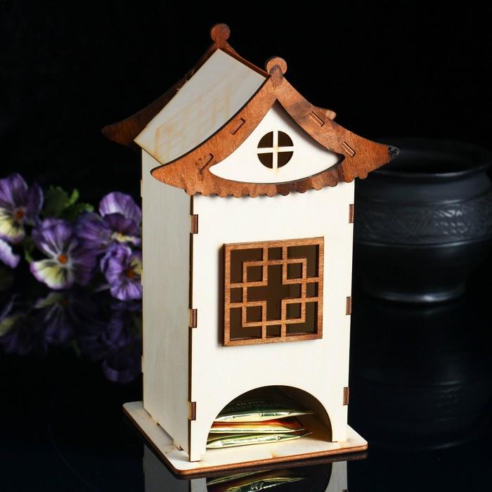 """Чайный домик """"Китайский домик"""", 10×10×17,5 см"""