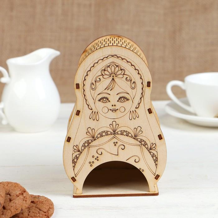 """Чайный домик """"Матрёшка"""" 10х10,5х16см"""