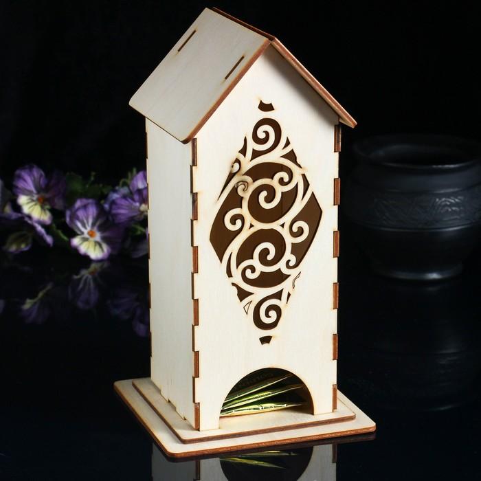 Чайный домик с вензелями  24*11 см.