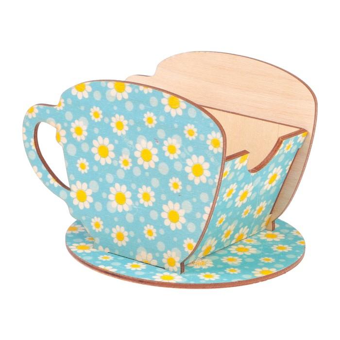 "Чайный домик Чашка с ромашками"" 8х8,5х9см"