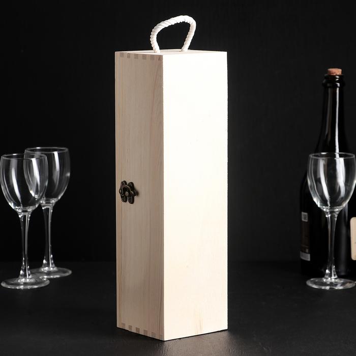 """Ящик для хранения вина 35×10 см """"Ливорно"""", на 1 бутылку"""