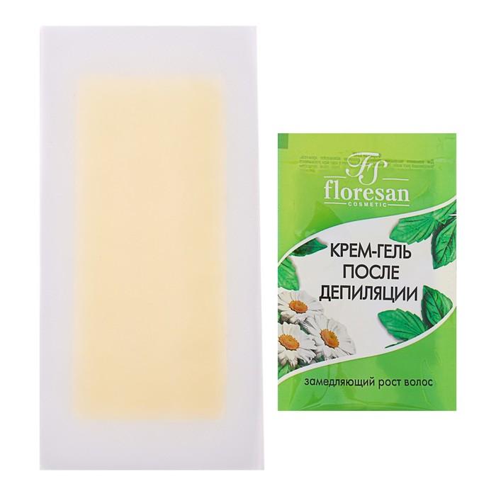 ЭКО-восковые полоски для депиляции Deep Depil, с ромашкой, для чувствительной кожи, 20 шт