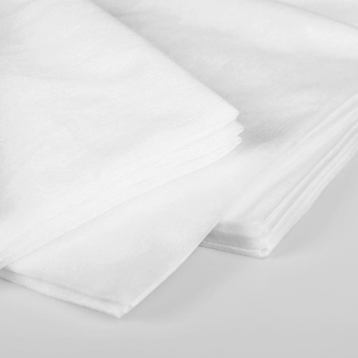 Полотенца косметические, одноразовые, 35 × 70 см, 50 шт
