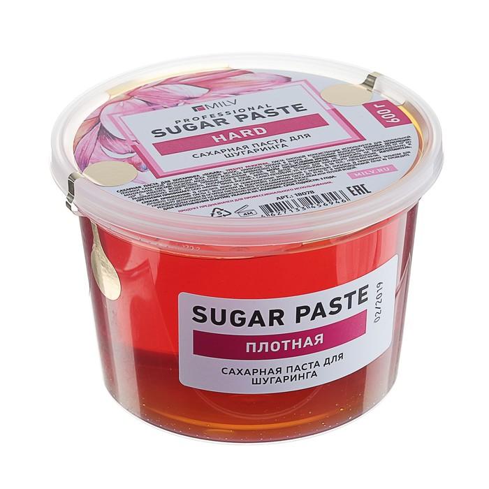 """Сахарная паста для шугаринга Milv Sugar """"Плотная"""", 600 г"""