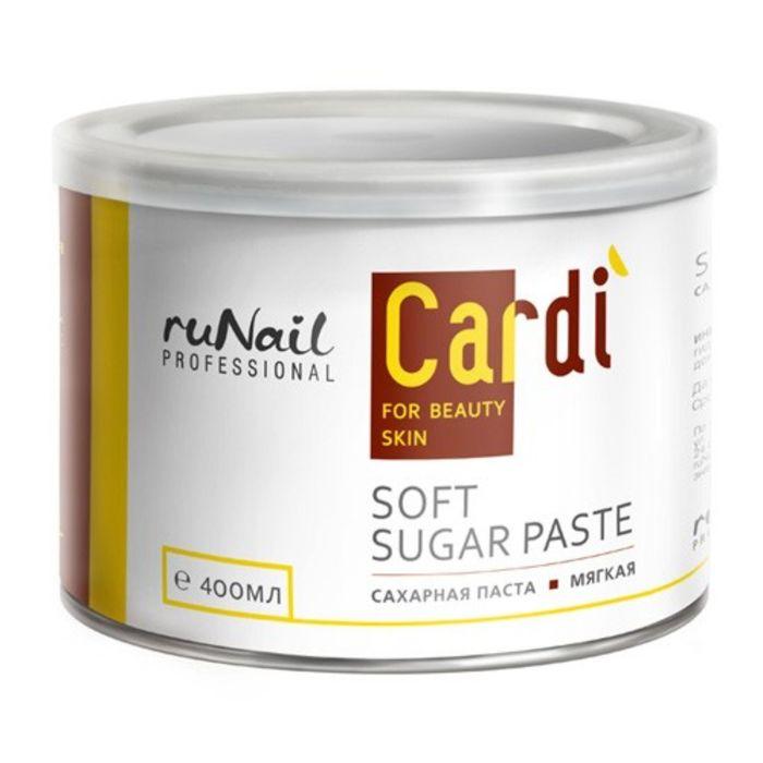Сахарная паста мягкая RuNail Cardi, 400 мл