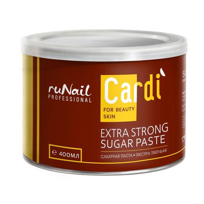 Сахарная паста экстра твердая RuNail Cardi, 400 мл