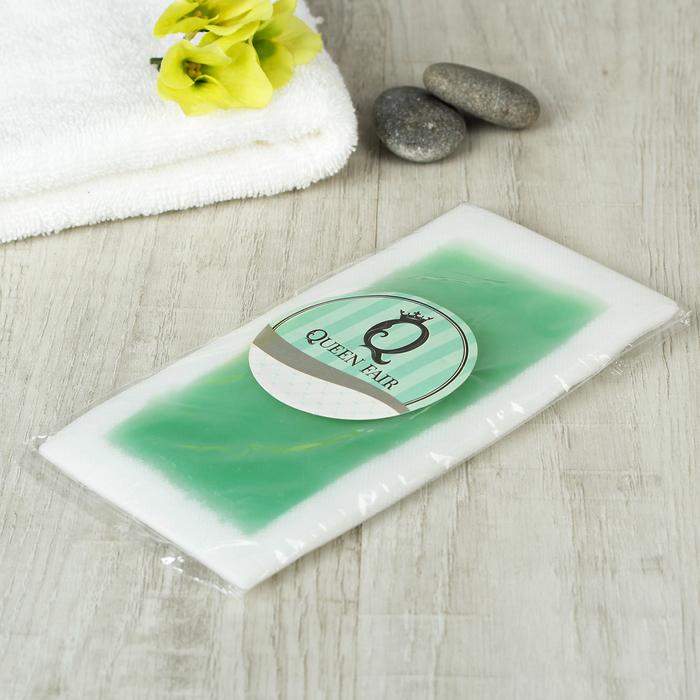 Восковые полоски для депиляции, алоэ вера, 20шт, цвет зелёный
