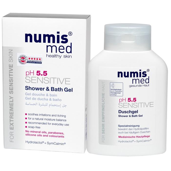 """Гель для душа и ванны Numis Med """"Sensitive рH5,5"""", 200 мл"""