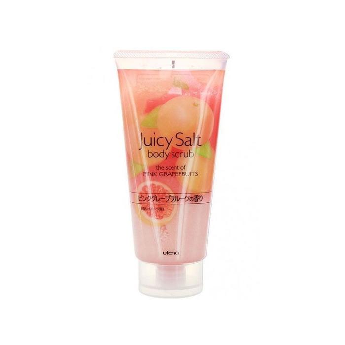 Скраб для тела Utena Juicy Salt на основе соли, с ароматом розового грейпфрута, 300 мл